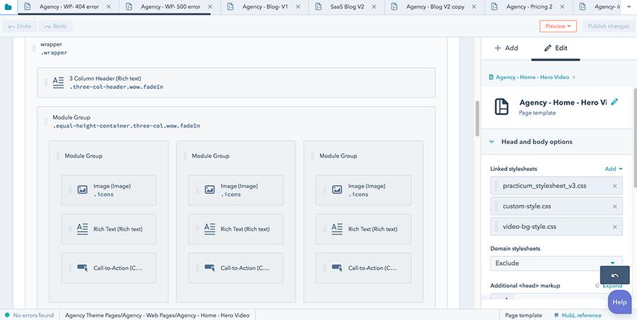 hubspot CMS website designers